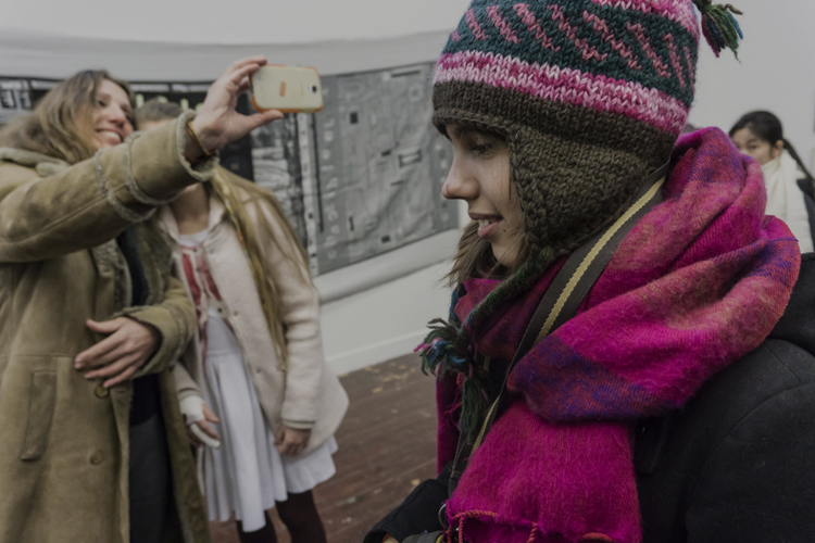 WEBOpening Lakens Kranten en Walvisvet in Park Platform for visual arts foto[c] Emile Waagenaar 2015 22.01.2015-0876